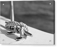At Sea Acrylic Print by Laura Fasulo