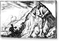 Atlas And Perseus, Greek Mythology Acrylic Print