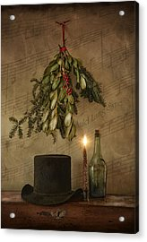 Acrylic Print featuring the photograph Auld Lang Syne by Robin-Lee Vieira