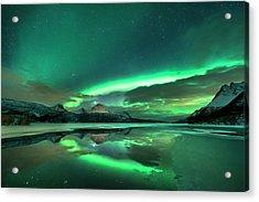 Aurora Borealis Acrylic Print by Tommy Eliassen