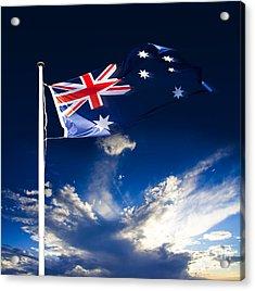 Australian Flag Acrylic Print