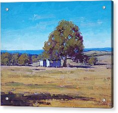 Australian Summer Landscape Acrylic Print