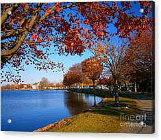 Autumn At Argyle Park Acrylic Print