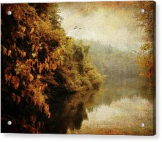 Autumn Canvas Acrylic Print by Jessica Jenney