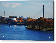 Autumn In Boston Acrylic Print by Toby McGuire
