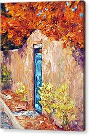 Autumn Morning Acrylic Print by Steven Boone
