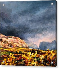 Autumn Wine Acrylic Print
