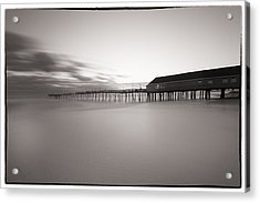 Avalon Fishing Pier Acrylic Print