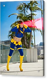 Awesome X-man Cyclops Acrylic Print by Andreas Schneider