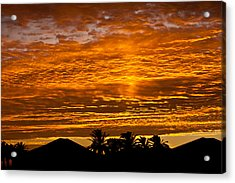 1 Awsome Sunset Acrylic Print