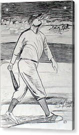 Babe Ruth 2 Acrylic Print