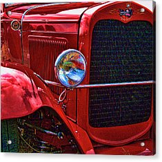 Acrylic Print featuring the photograph Bad Dog by Ron Roberts