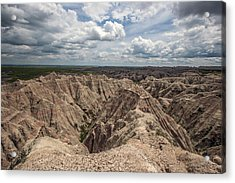Badlands South Dakota Acrylic Print