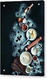 Baking For Stargazers Acrylic Print by Dina Belenko