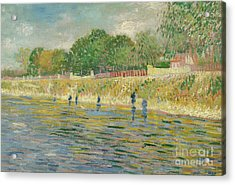 Bank Of The Seine Acrylic Print