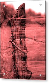 Barbed Wire Acrylic Print by Tommytechno Sweden