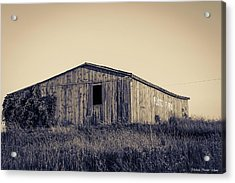 Barn Acrylic Print by Michaela Preston