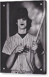 Baseball Furies Acrylic Print by Brittni DeWeese