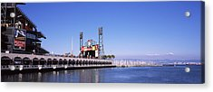 Baseball Park At The Waterfront, At&t Acrylic Print by Panoramic Images