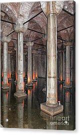 Basilica Cistern 02 Acrylic Print