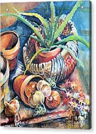 Baskets Acrylic Print