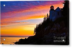 Bass Harbor Head Light.  Acrylic Print