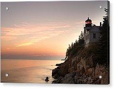 Bass Harbor Lighthouse Acrylic Print by Eric Foltz
