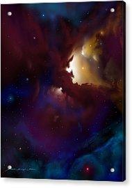 Bat Nebula Acrylic Print