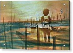 Batang Pinoy 1980 Acrylic Print