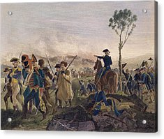 Battle Of Bennington, 1777 Acrylic Print by Granger