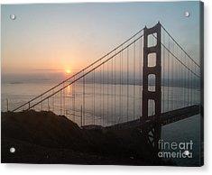 Golden Gate Bridge - 145 Acrylic Print by Stephen Parker