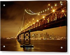 Bay Bridge Acrylic Print