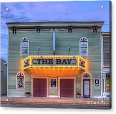 Bay Theatre In Sutton's Bay Acrylic Print