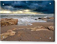 Beach. Acrylic Print by Alexandr  Malyshev