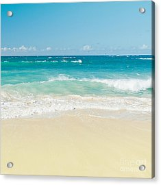Acrylic Print featuring the photograph Beach Love by Sharon Mau