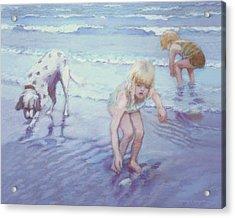 Beach Threesome Acrylic Print