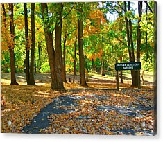 Beautiful Autumn Season Acrylic Print