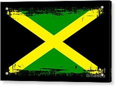 Beautiful Jamaica Flag Acrylic Print