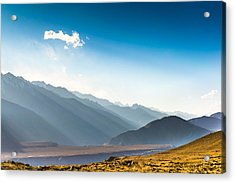 Beautiful Landscape In Norther Part Of India Acrylic Print by Primeimages