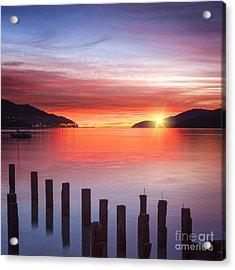 Beautiful Sunrise Acrylic Print by Colin and Linda McKie