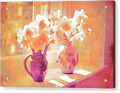Beethovens Window Sill Acrylic Print