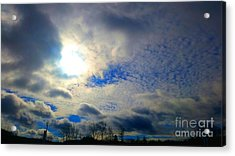 Before Rain Acrylic Print