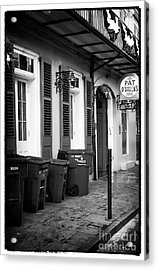 Before The Crowds Acrylic Print by John Rizzuto