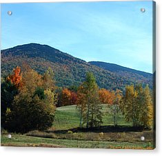 Acrylic Print featuring the photograph Belknap Mountain by Mim White