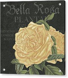 Bella Rosa Square Acrylic Print