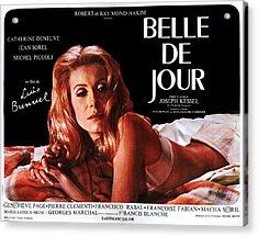 Belle De Jour, Catherine Deneuve Acrylic Print