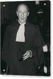 Ben Barka Trial Acrylic Print by Retro Images Archive