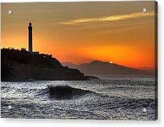 Biarritz Acrylic Print by Karim SAARI