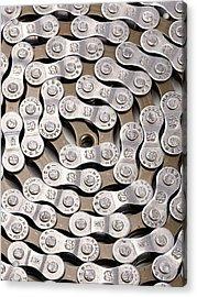 Bicycle Chain Acrylic Print