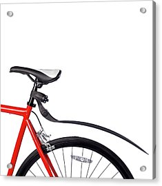 Bicycle Mud Guard Acrylic Print